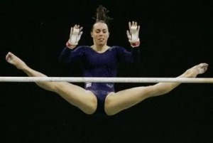 After not medaling in the last Olympics Beth Tweddle earns herself a bronze in London. gymnstands | photobucket.com